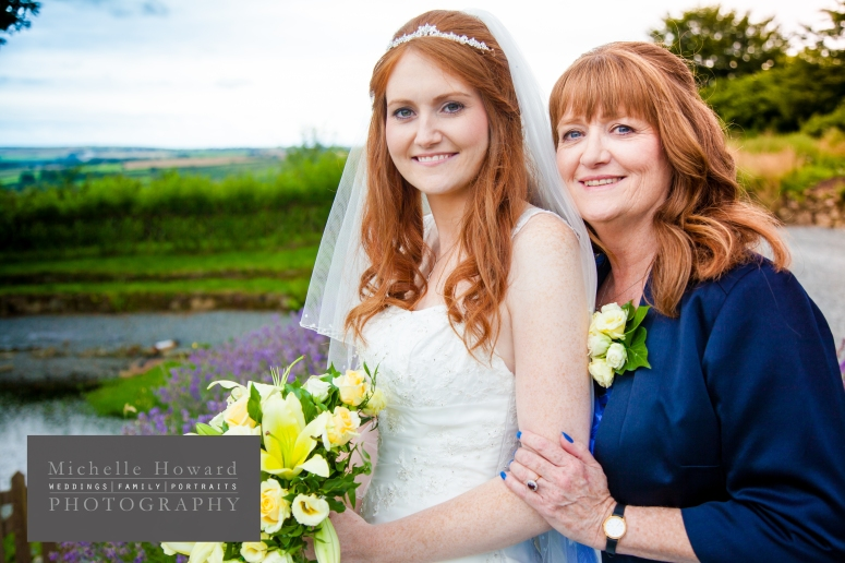 mother and daughter, bride, mother of the bride, exist in photos, vintage, cornish, blue, read,