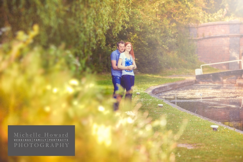 engaged, photography, west midlands, canal, summer, getting married,
