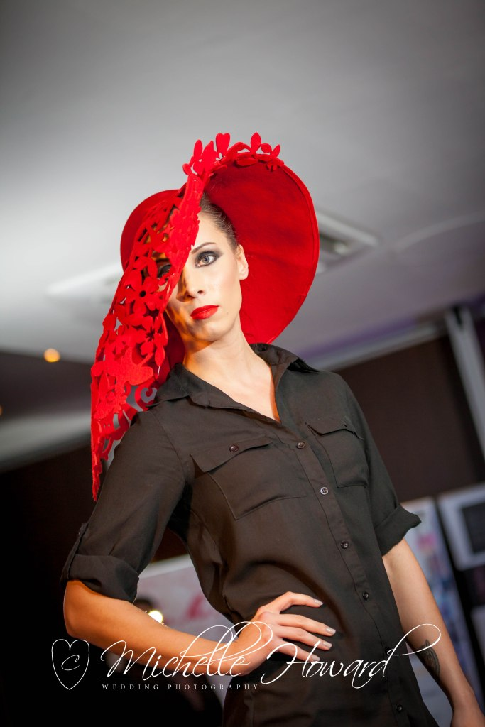 liverpool, designer, hats, house of charles, red, designer, runway, fashion, architecture, structure, ascot hats,